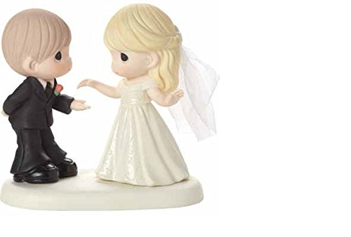 Precious Moments Wedding Gifts May I have This Dance for The Rest of My Life Bisque Porcelain Figurine 163008 by Precious Moments