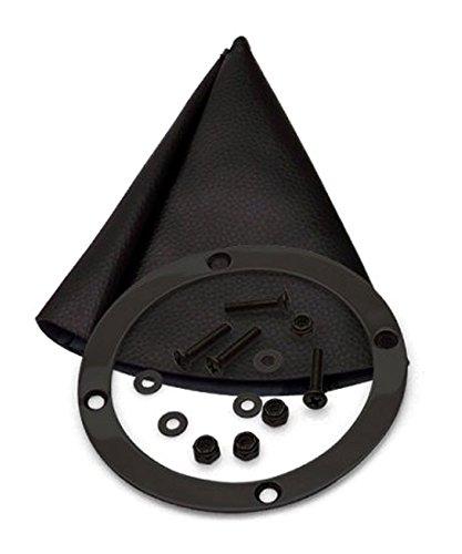 4L80E 23 Trim Kit Push Button Black Boot Ringed Knob for DCC6D American Shifter 428138 Shifter