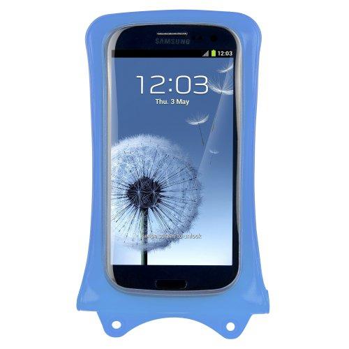 Dicapac Wp-c1 Waterproof Case for Samsung, Blackberry Storm, Nokia, Lg, Smart Phones - Sky Blue (Storm Blackberry Case)