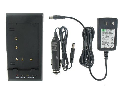 TechFuel Battery Charger Kit Charges JVC BN-V20U Battery - For Home, Car and Travel Use by TechFuel (Image #2)