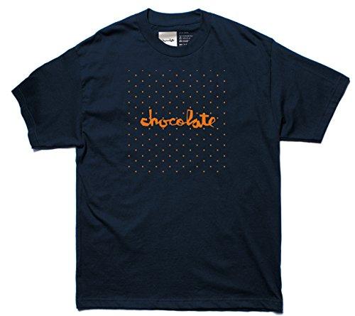 CHOCOLATE Skateboard Shirt FLOATER CHUNK NAVY Size S