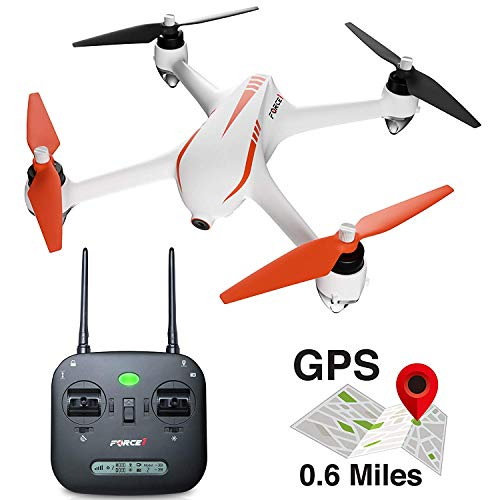 Force1 Drone with Camera and GPS Return Home Brushless for sale  Delivered anywhere in USA