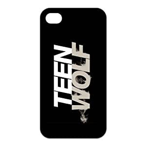 Teen Wolf Custom TPU Case Cover Protective Skin For Iphone 4 4s iphone4s-NY973