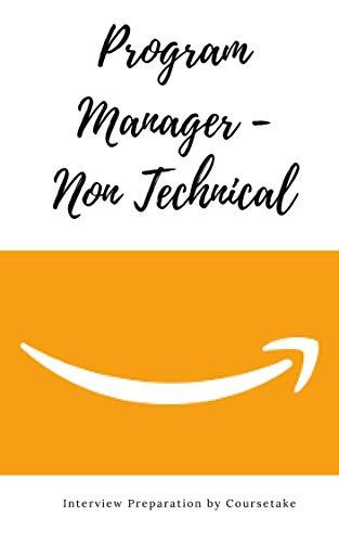 Amazon com: Amazon Program Manager - Non Technical Interview
