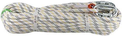 クライミングロープ、クライミングロープ下り坂火災救助エスケープロープ空中作業安全ロープ、直径12 mm。,10m