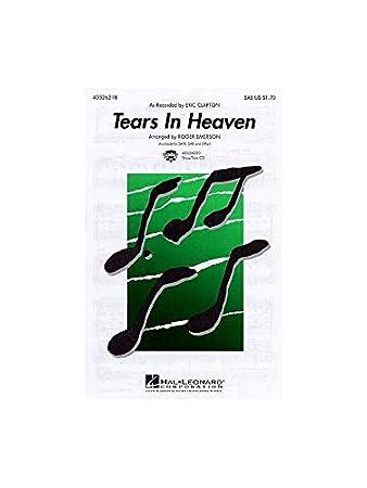 Eric Clapton: Tears In Heaven (SAB/Piano). Für SAB, Klavierbegleitung
