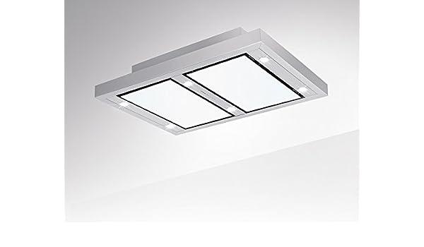 Silverline VGUD 124.1 WRA Vega AC - Campana extractora de techo (120 cm, según la normativa de la UE 65/2014, las cubiertas de aire puro no requieren etiquetado): Amazon.es: Grandes electrodomésticos