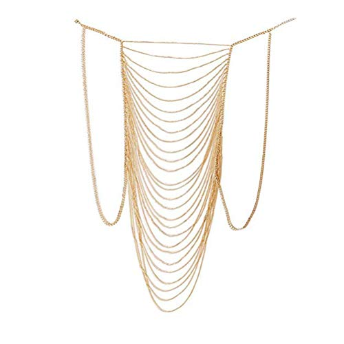 MineSign Body Chain Jewelry for Women Boho Bikini Chains Sexy Party Necklace - Hot Jewelry Body