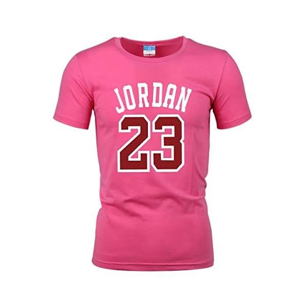 bad669a344 Jordan 23 Print Men T-Shirt Cotton Jordan 23 Hip Hop Short Sleeve T ...