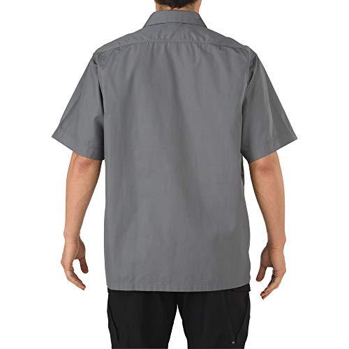 11 manga Camisa de hombres azul Tdu 5 corta medianoche de los taclite RqdpRwxX
