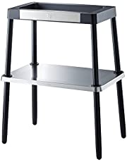 WMF Lono tafel-/elektrische grill, geribbeld, 2000 W, met variabele temperatuurinstelling