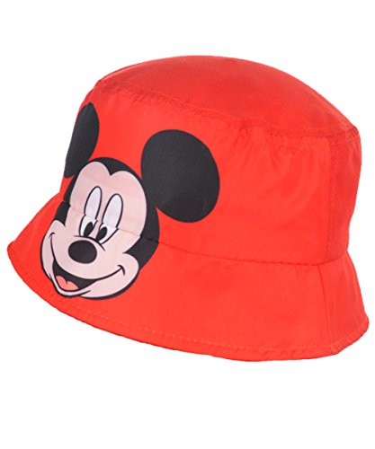 Mickey Mouse Baby Boys Toddler Bucket Sun Hat (Kids Red Bucket Hat)