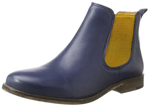 Apple of Eden Damen Manon Chelsea Boots Blau (Dk Blue)