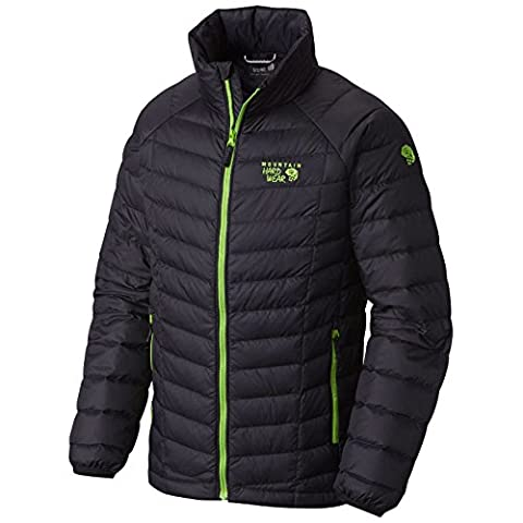 Mountain Hardwear Boy's Micro Ratio Down Jacket, Black, M - Hi Loft Fleece Jacket