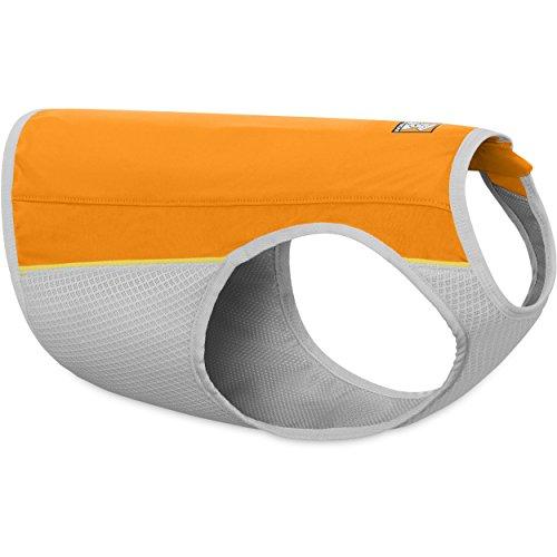 Ruffwear - Jet Stream High-Performance Cooling Vest for Dogs, Salamander Orange, (Evaporative Cooling Chart)