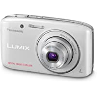 Panasonic Lumix S2 14.1 MP Digital Camera with 4x Optical Zoom (White) - International Version (No Warranty)