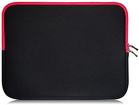 11.6-12.5 inch Laptop Sweet Tech Black//Red Neoprene Case Cover Sleeve Suitable for InnJoo Y100 InnJoo Y200 11.6 Inch 360