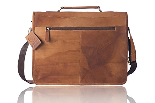 J. Wilson London , Borsa Messenger  marrone Brown large