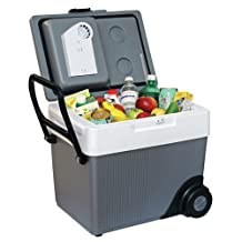Koolatron W65 33-Quart Kargo Wheeler Cooler/Heater, Dark Grey