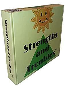 Strengths and Troubles: The Wellness Board Game