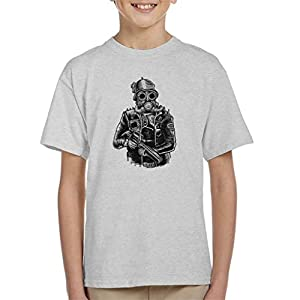 Steampunk Soldier Kid's T-Shirt