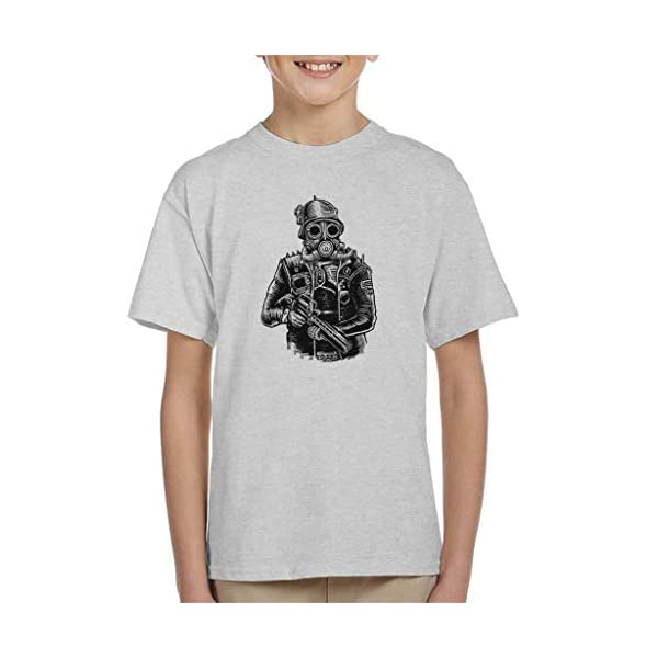 Steampunk Soldier Kid's T-Shirt 3