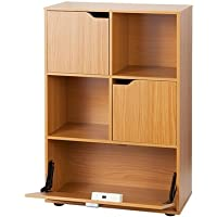 Yak About It Locking Safe Bookshelf - Beech