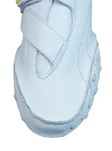 Puma Amoko 2 Damen Leder Fitness-Turnschuhe / Schuhe White