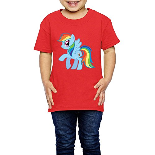 Price comparison product image Kids Boy's & Girl's Rainbow Horse Cool T-srhits