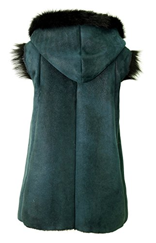 DX Exclusive Femme Wear d'agneau schaffellweste Peau 0d1HrFx0wq