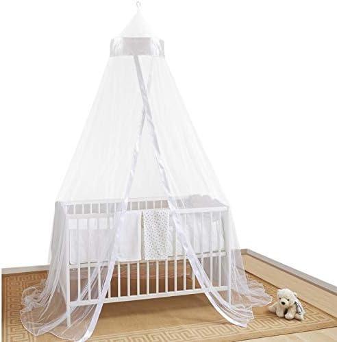 CIEL DE LIT PROTECTEUR POUR LITS ET PANIERS BEBE – Accessoire protectrice pour lits bébé contre insectes, araignées et moustiques. Facile à monter.