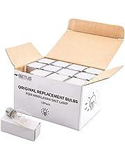 Betus [Original Replacement] Long Lasting 15 Watt Dimmable E14 Socket Incandescent Candelabra Salt Lamp Bulb - Value Pack of 12