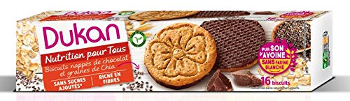 Amazon.com: Dukan Diet Galletas de salvado de avena con ...