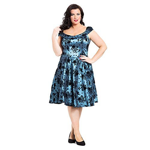 Voodoo-Vixen-Womens-Holly-Plus-Size-Dress