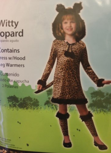 WITTY LEOPARD COSTUME - M (8-10) -