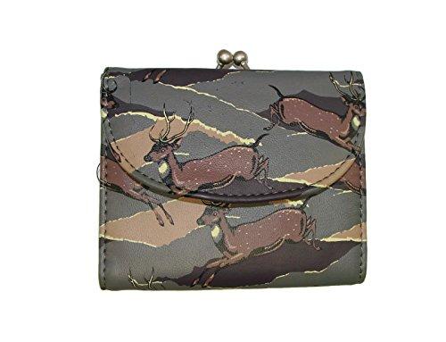 - Purse Grey Tan Deer Wallet MStyleLab 12031469 MGME
