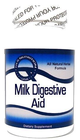 Milk Digestive Aid 60 Capsules ^GLS by GLS