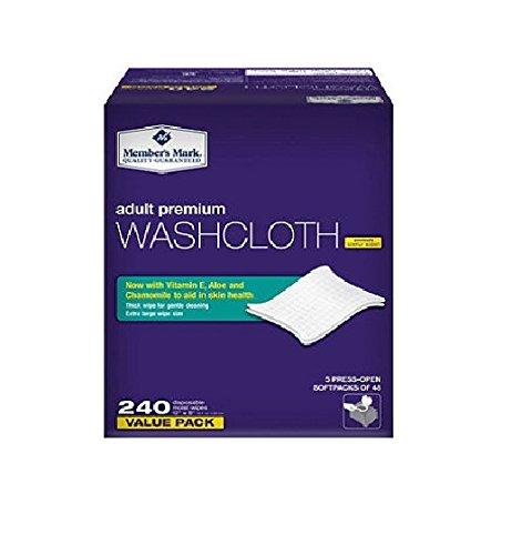 Member's Mark Adult Washcloths 240ct