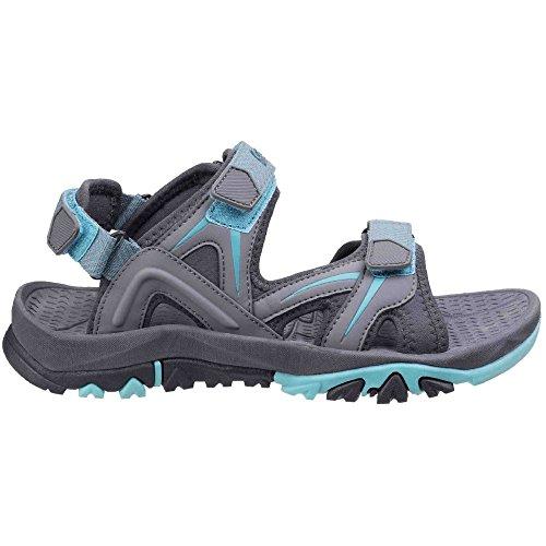 Cotswold Womens/Ladies Swinbrook Women�s Casual Walking Sandals Grey/Aqua SKZlzoa