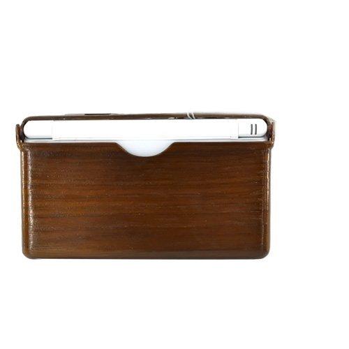 Beechwood Case (Nintendo DS Lite Hard Case Cover - Eco-Design Dark Beech Wood Design by KarenDeals)