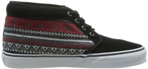 Vans U Chukka 79 - Zapatillas de Deporte de cuero nobuck Unisex negro - Noir (Nordic Black)
