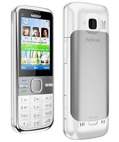 NOKIA C5-00 White 5MP SYMBIAN Smartphone: Amazon in: Electronics