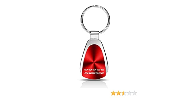 Dodge Charger Black Leather Key Fob Authentic Logo Key Chain Key Ring Keychain Lanyard INC Au-Tomotive Gold