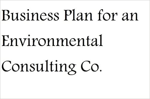 Business plan for consulting company