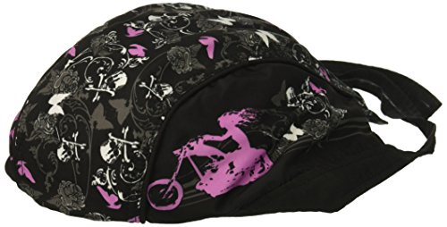 (Hot Leathers HWH1022 Lady Rider Stud Head Wrap (Black))