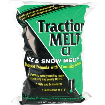 Traction Melt - 50 Lb Bag ''Fob'' - Freight (Pack Of 16)