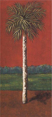 Cherry Pencil Post Bed (Oil Painting 'a Tree', 24 x 54 inch / 61 x 137 cm , on High Definition HD canvas prints is for Gifts And Foyer, Kids Room And Powder Room Decoration, easy print)