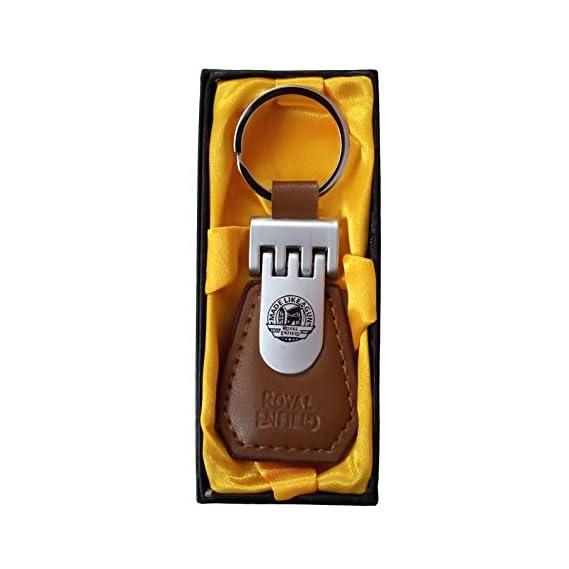 Leroy's Royal Enfield Bullet Premium Elegant Gift Key Ring/Key Chain for Boys Using Bike or Car