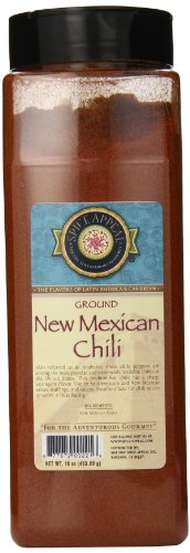 Chili Anaheim - Spice Appeal New Mexican Chili Ground, 16 Ounce