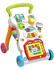 HAPPYTOYS Baby stroller Sit&Stand Learning Walker Multifunction Outdoor Toy